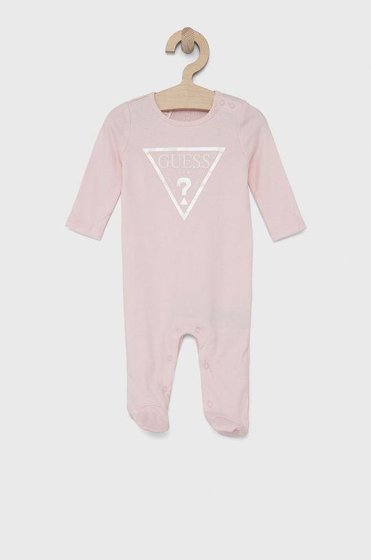 růžová Guess - Kojenecké oblečení 62-76 cm Dívčí