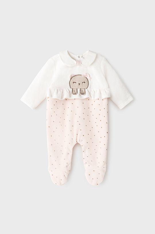 roz pastelat Mayoral Newborn - Costum bebe De fete