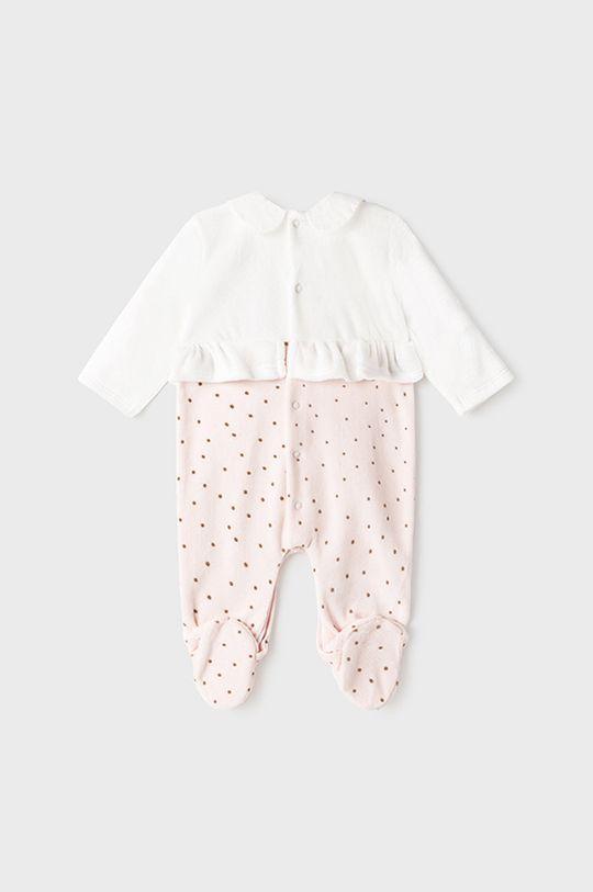 Mayoral Newborn - Costum bebe roz pastelat