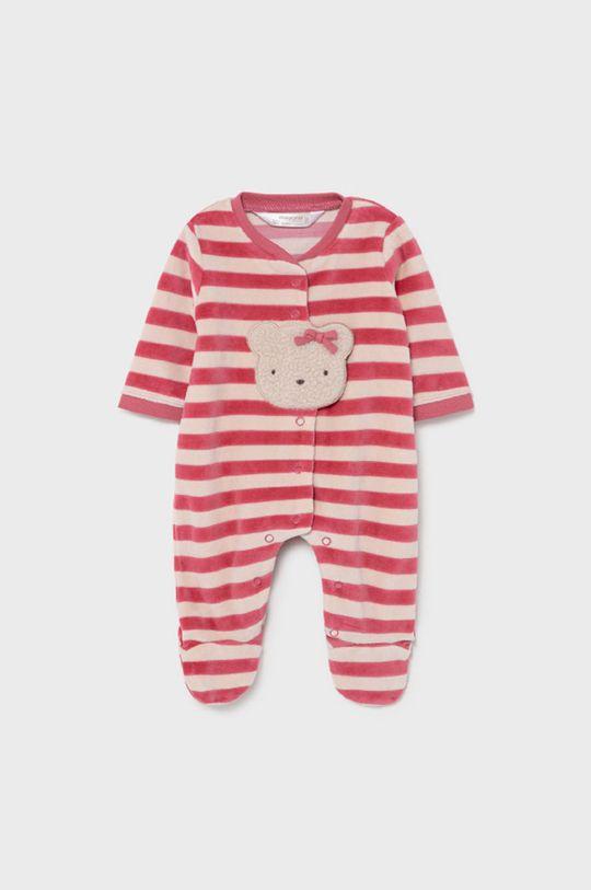 purpurowy Mayoral Newborn - Śpioszki niemowlęce Dziewczęcy