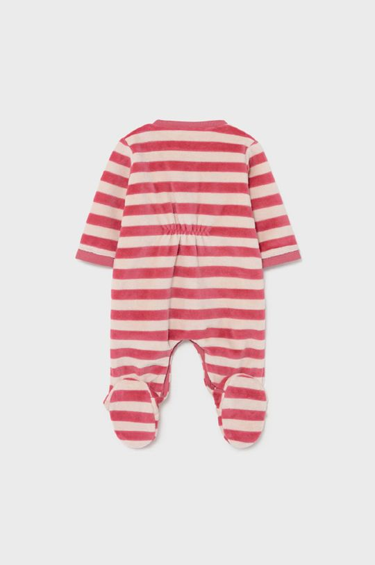 Mayoral Newborn - Śpioszki niemowlęce purpurowy