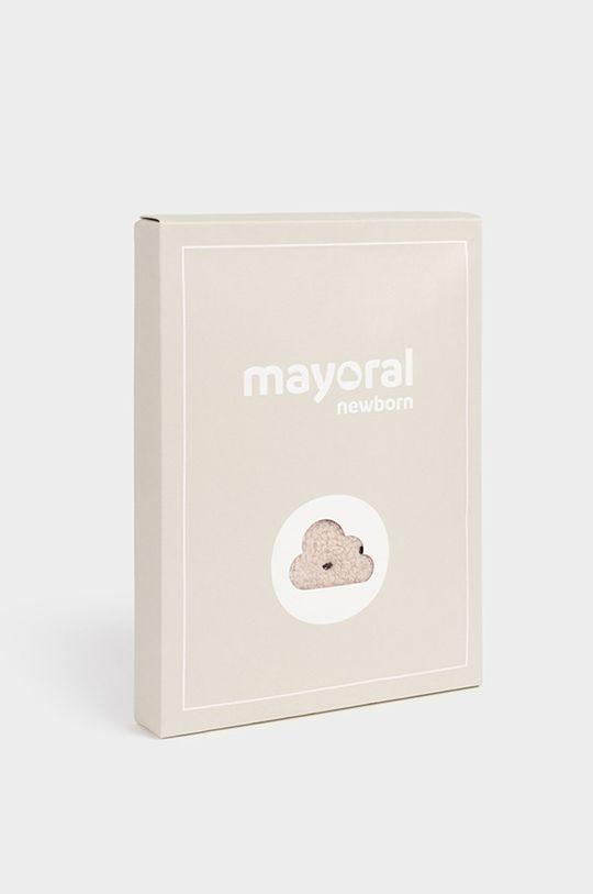 purpurowy Mayoral Newborn - Śpioszki niemowlęce