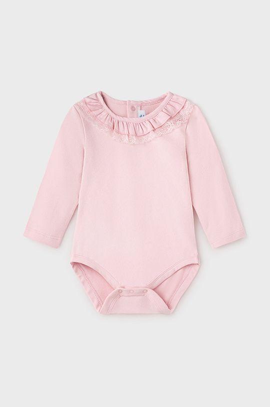 pastelowy różowy Mayoral - Body niemowlęce Dziewczęcy