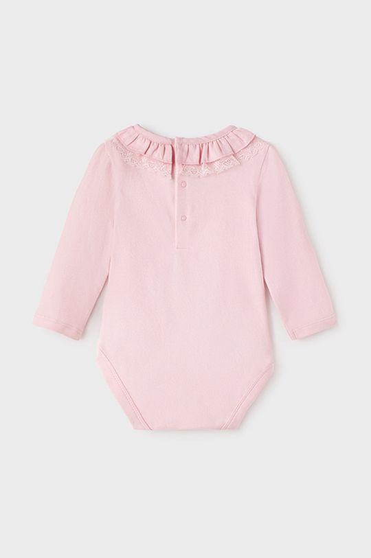 Mayoral - Body niemowlęce pastelowy różowy
