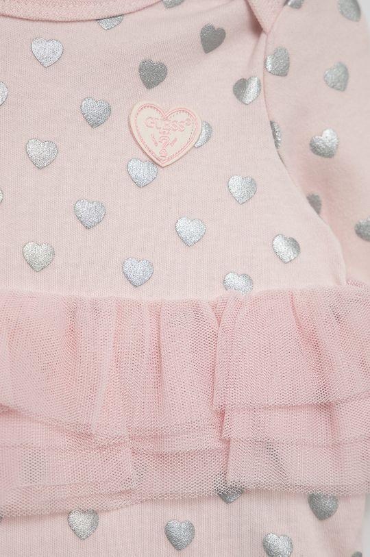 pastelowy różowy Guess - Komplet niemowlęcy