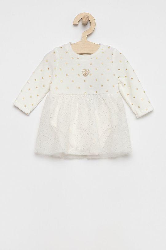 biały Guess - Sukienka niemowlęca Dziewczęcy