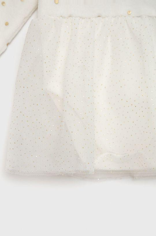 Guess - Sukienka niemowlęca Materiał 1: 76 % Bawełna, 24 % Poliester, Materiał 2: 100 % Bawełna, Materiał 3: 100 % Poliester