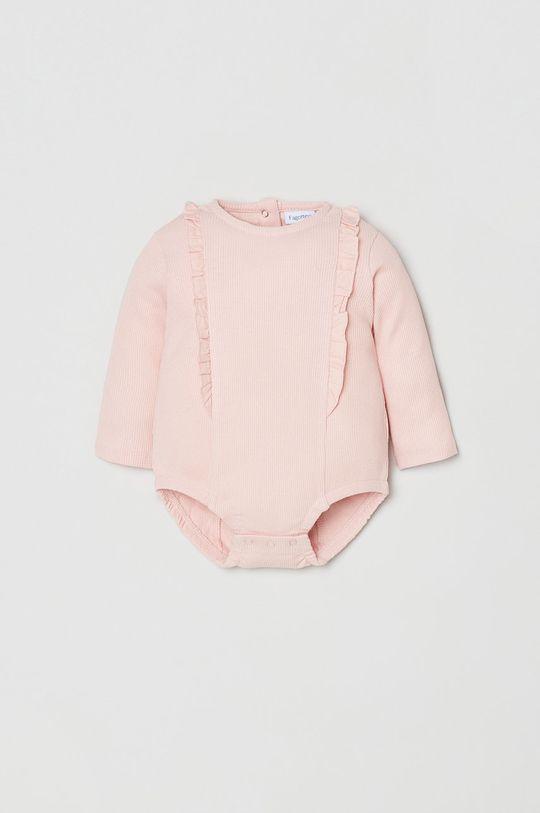 różowy OVS - Body niemowlęce Dziewczęcy