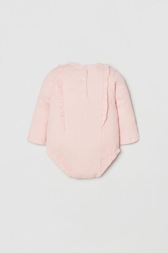 OVS - Body niemowlęce różowy