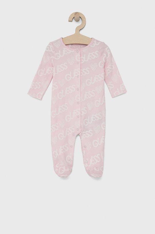růžová Guess - Kojenecké oblečení 62-76 cm Dětský