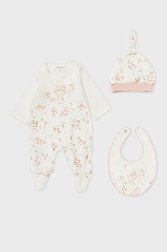 Mayoral Newborn - Compleu bebe roz murdar