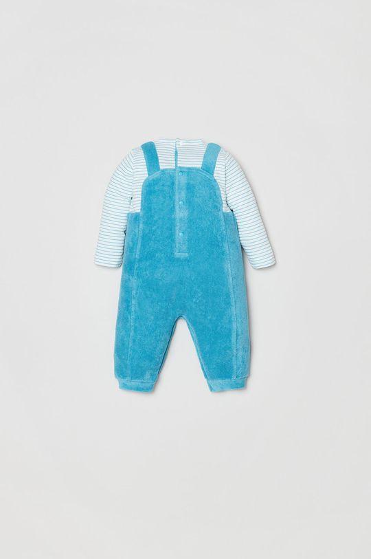 OVS - Kombinezon niemowlęcy niebieski