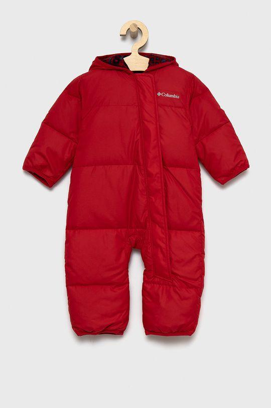 czerwony Columbia - Kombinezon puchowy niemowlęcy Dziecięcy