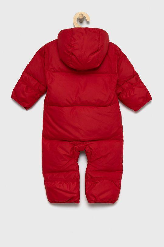 Columbia - Kombinezon puchowy niemowlęcy czerwony