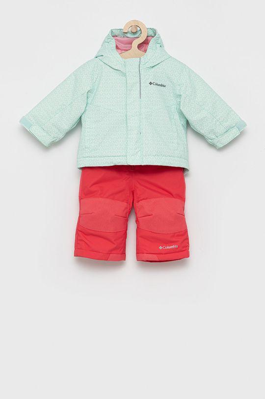jasny turkusowy Columbia - Kombinezon i kurtka dziecięce Dziecięcy