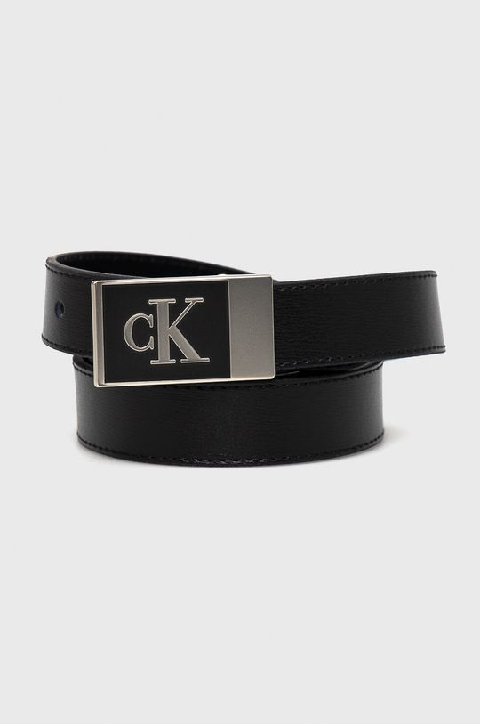 czarny Calvin Klein Jeans - Pasek skórzany Damski