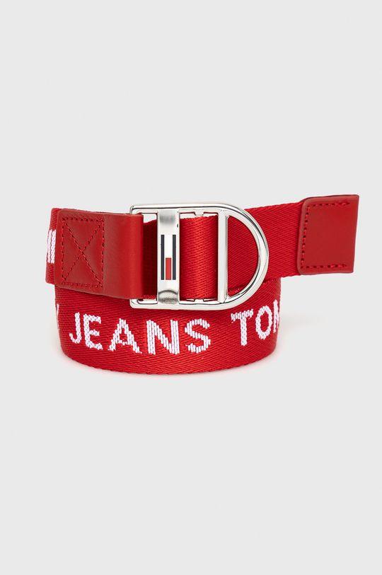 czerwony Tommy Jeans - Pasek Damski