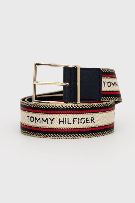 granatowy Tommy Hilfiger - Pasek Damski