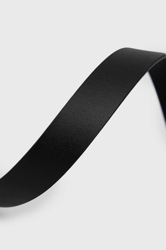 Tommy Jeans - Kožený pásek černá