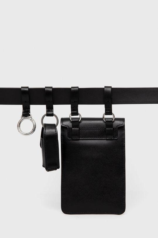 Karl Lagerfeld - Nerka skórzana 100 % Skóra naturalna