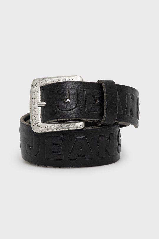 černá Pepe Jeans - Kožený pásek Lena Dámský