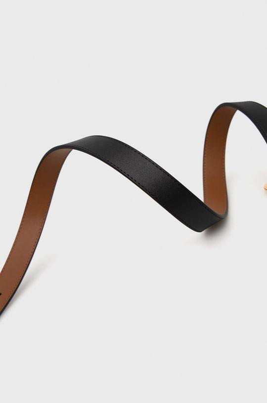 Lauren Ralph Lauren - Pasek skórzany dwustronny 100 % Skóra naturalna
