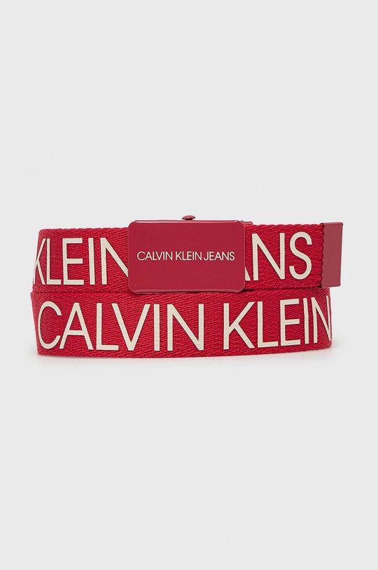 czerwony Calvin Klein Jeans - Pasek dziecięcy Dziecięcy