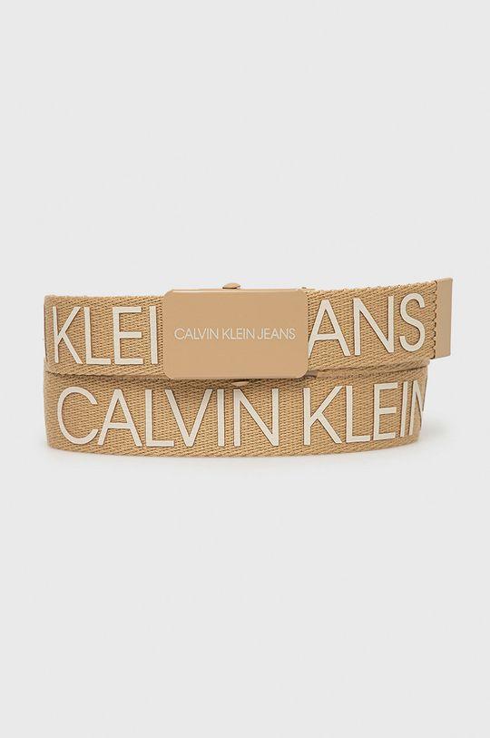beżowy Calvin Klein Jeans - Pasek dziecięcy Dziecięcy