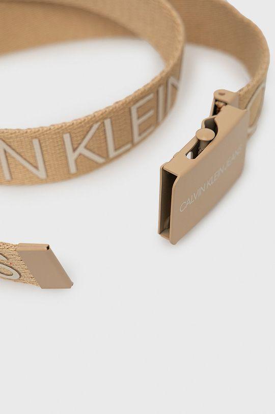 Calvin Klein Jeans - Pasek dziecięcy beżowy