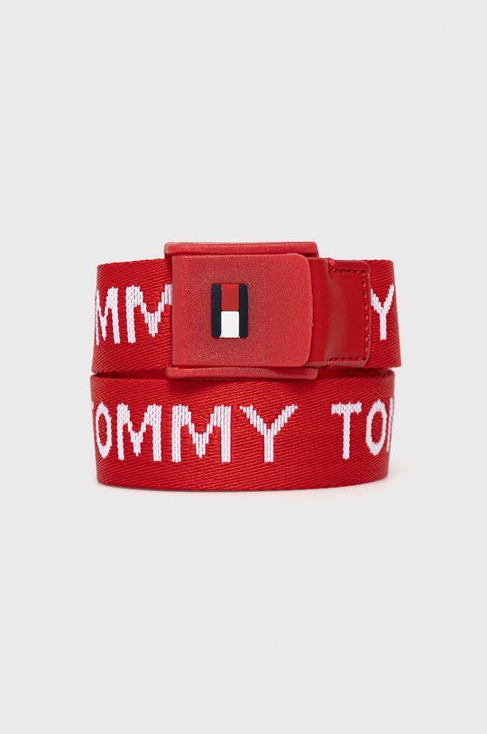 czerwony Tommy Hilfiger - Pasek dziecięcy Dziecięcy
