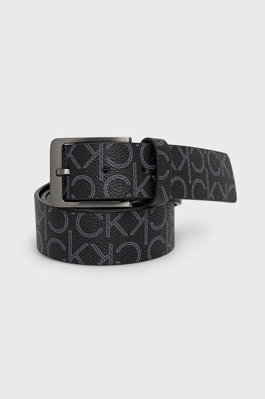 čierna Calvin Klein - Kožený opasok Pánsky
