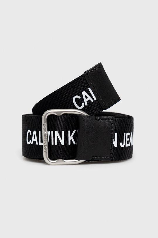 černá Calvin Klein Jeans - Pásek Pánský
