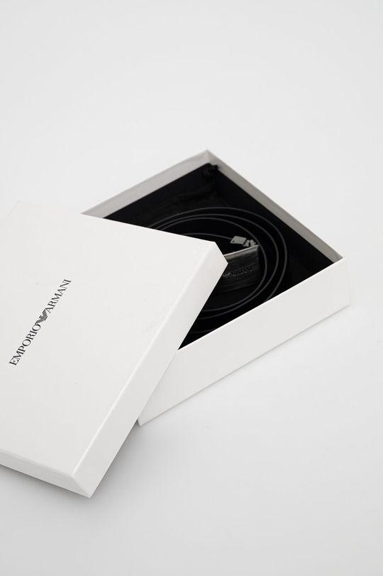 Emporio Armani - Kožený pásek  100% Přírodní kůže