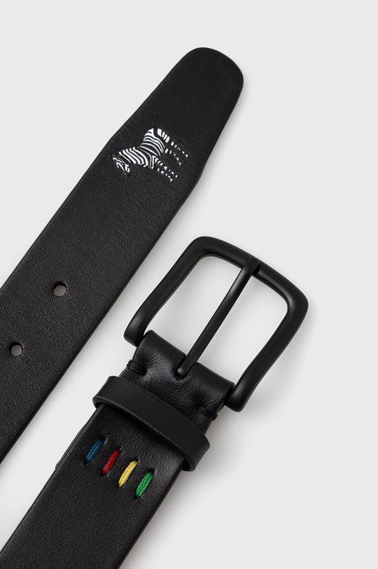 PS Paul Smith - Kožený pásek černá