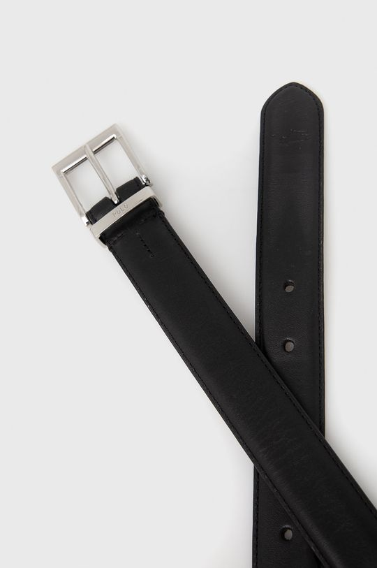 Polo Ralph Lauren - Kožený pásek černá