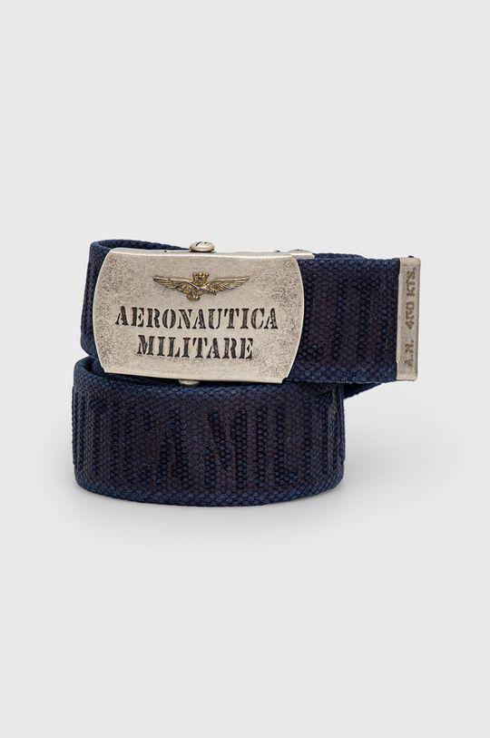 granatowy Aeronautica Militare - Pasek Męski