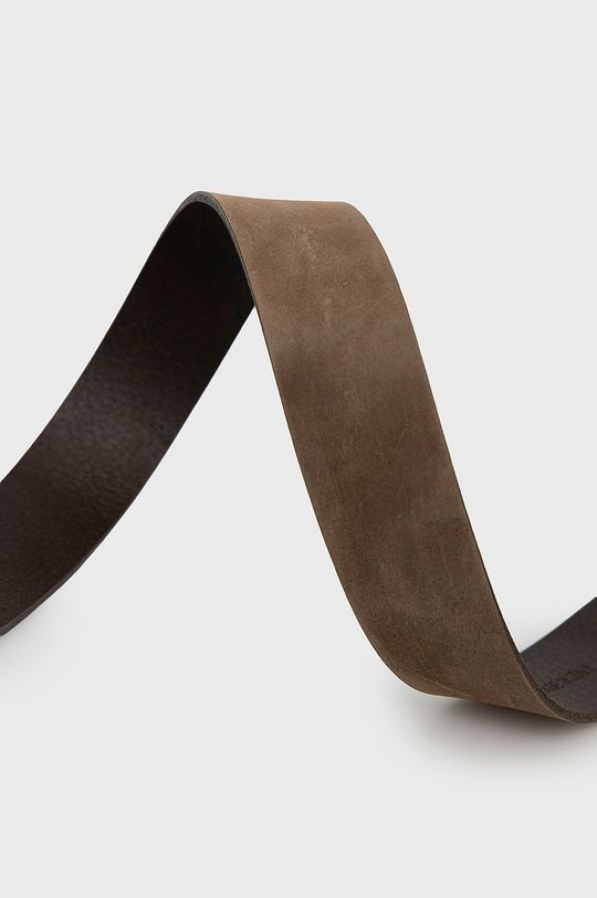 Aeronautica Militare - Pasek skórzany brązowy
