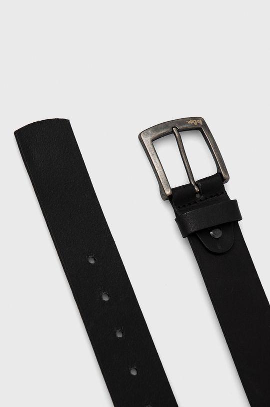 Lee Cooper - Kožený pásek černá