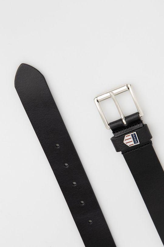 Gant - Kožený pásek černá