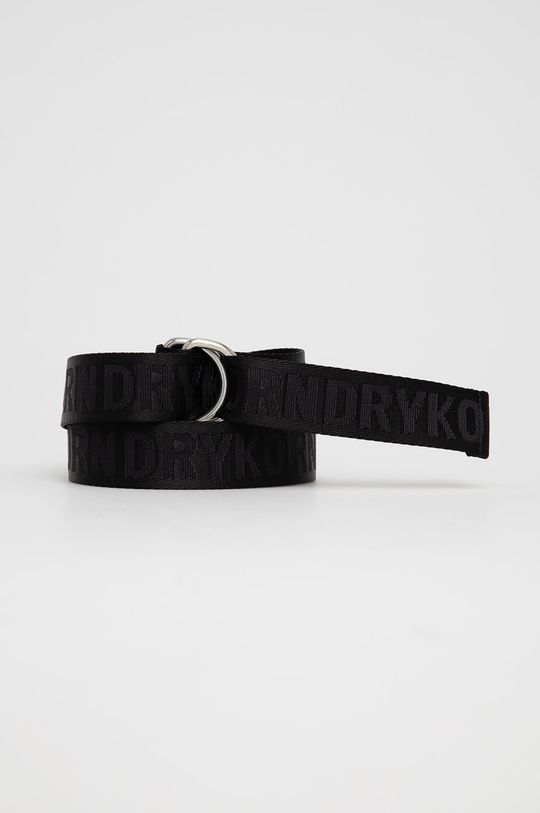 czarny Drykorn - Pasek Harness Unisex