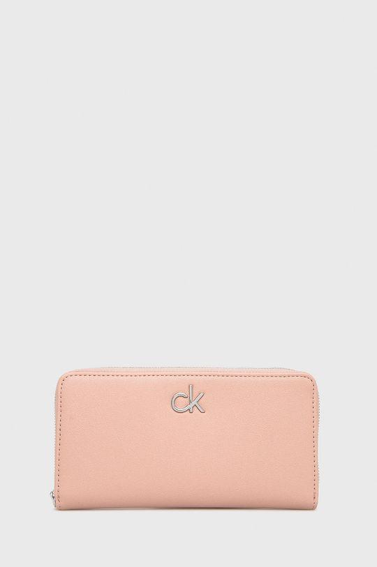 różowy Calvin Klein - Portfel Damski