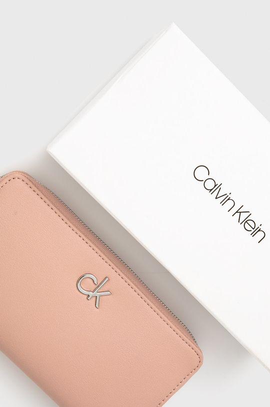 różowy Calvin Klein - Portfel