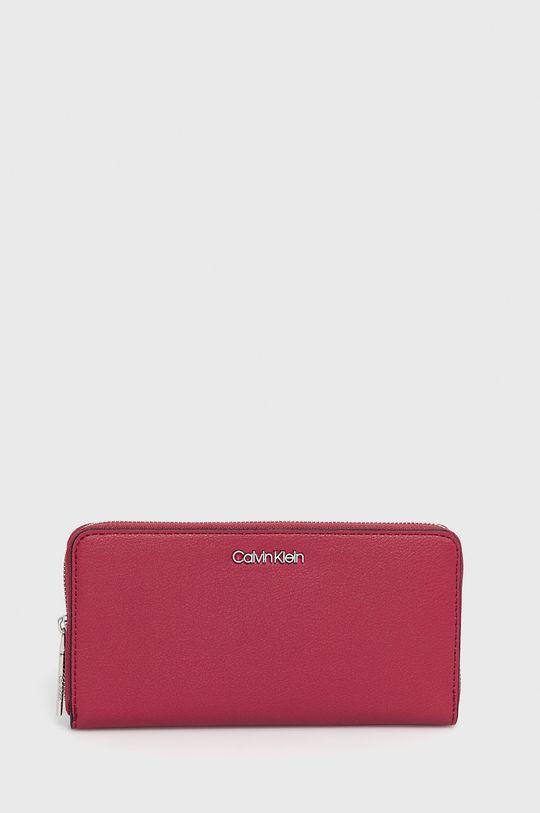 sýto ružová Calvin Klein - Peňaženka Dámsky