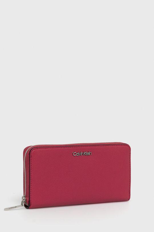 Calvin Klein - Peňaženka sýto ružová
