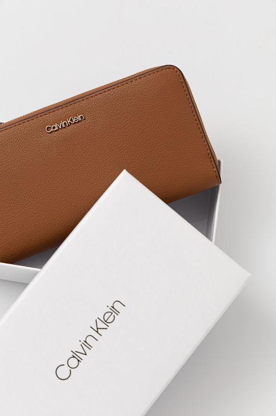 złoty brąz Calvin Klein - Portfel
