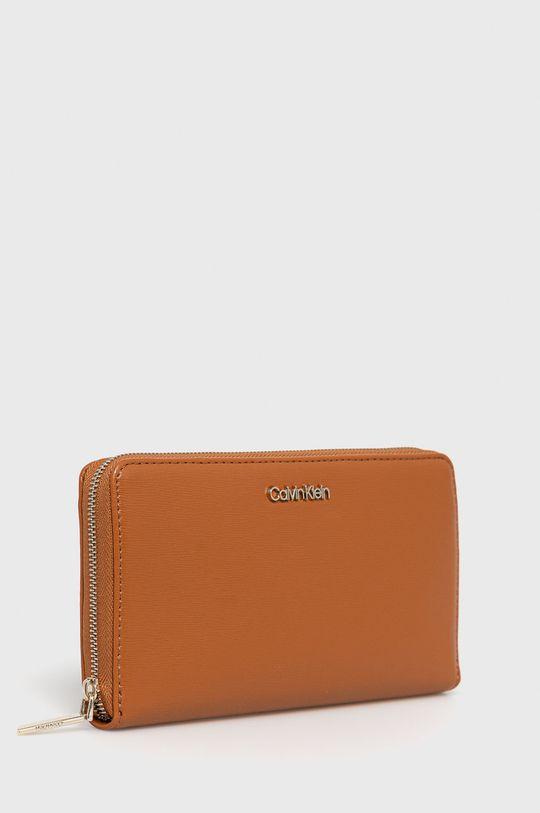Calvin Klein - Portfel złoty brąz