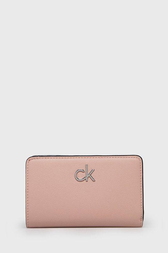 ružová Calvin Klein - Peňaženka Dámsky