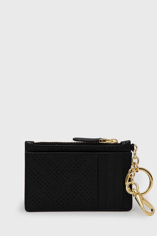 Lauren Ralph Lauren - Kožená peněženka černá