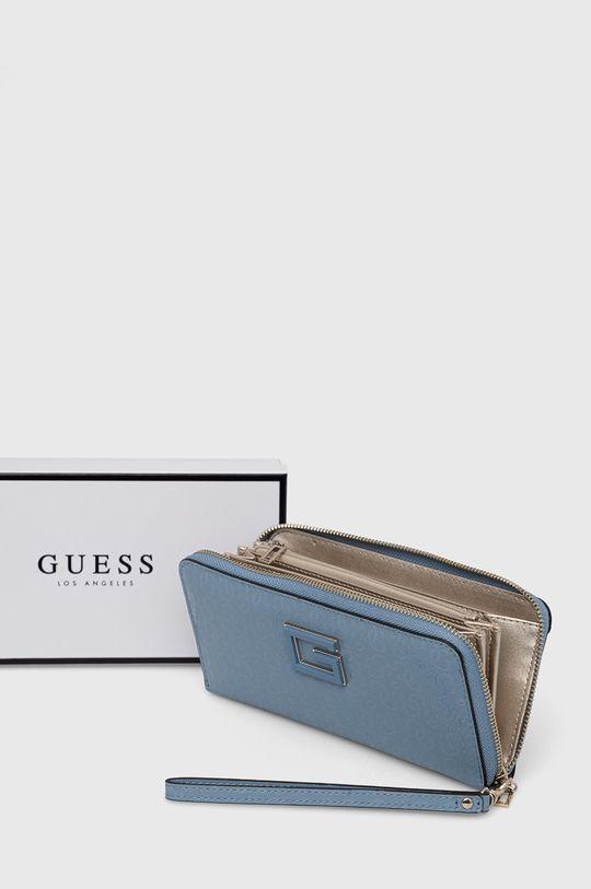 jasny niebieski Guess - Portfel