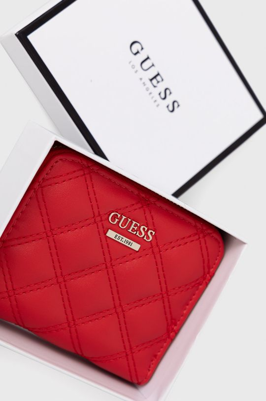czerwony Guess - Portfel